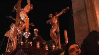 SEMANA SANTA DE MÁLAGA - DOLORES DEL PUENTE - PARTE 1 (ENTRADA DEL CRISTO EN LA CATEDRAL)