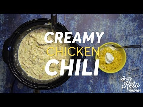 Keto Chicken Chili:Creamy Delicious Low Carb Chicken Chili (Easy)