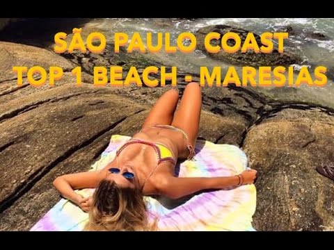 Top 1 Brazilian Beaches  in São Paulo State Coast - Maresias Beach - Brazil