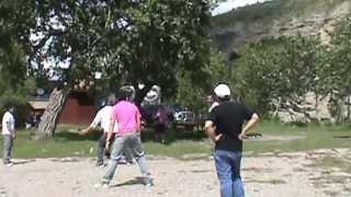 "Playing the traditional Filipino Game ""Lantay- Lantay"" ft. Ilonggo boys in Canada"