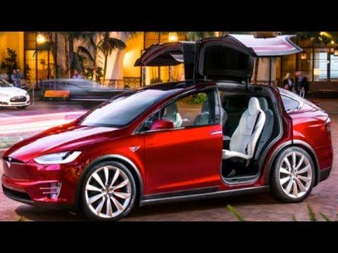 Автомобиль будущего. Электрический седан Tesla - YouTube