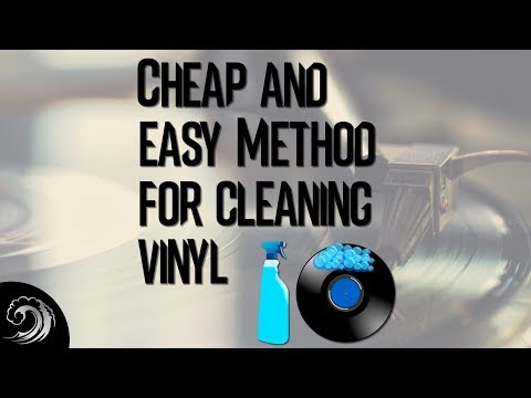 Cheap And Easy Method For Cleaning Vinyl Records