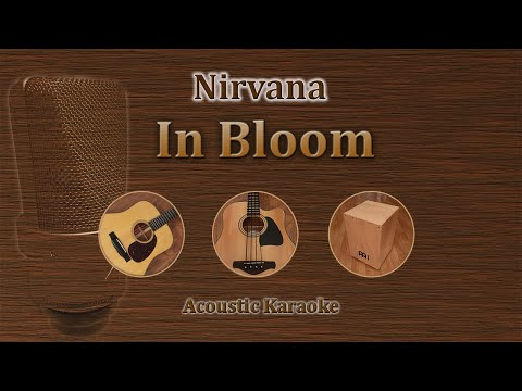 In Bloom - Nirvana (Acoustic Karaoke)
