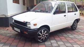 Restoring a 1990 maruti 800 on a low budget  :P