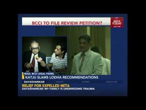 BCCI Appointed Markandey Katju Calls Lodha Panel