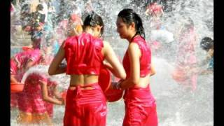 Dai  Lue  Song :  Let's Enjoy  Water Splashing ! [ed]