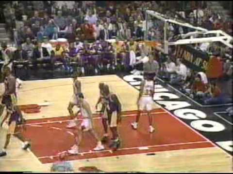 Lakers vs Bulls Season 96-97 part 6