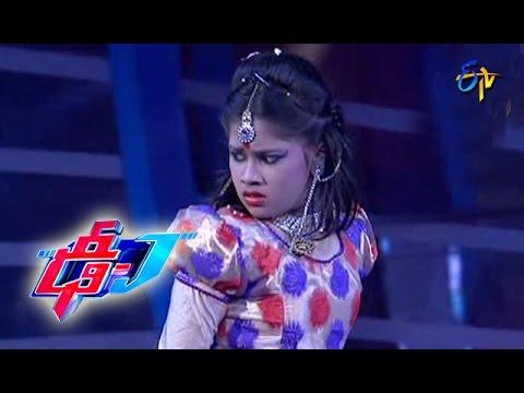 Rajashekara Agalenura Song - Varshini Performance - 39 - Dhee Juniors - ETV Telugu
