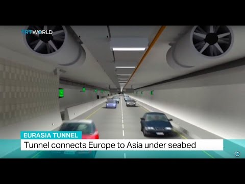 Eurasia Tunnel: Tunnel beneath Bosphorus opens in Istanbul
