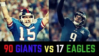 2017 Eagles vs 1990 Giants Debate | Who is the Better Underdog Team?