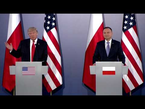 WATCH: President Trump and Polish President Andrzej Duda News Conference