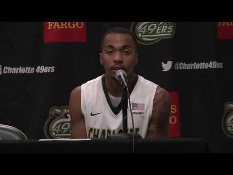 Charlotte Men's Basketball vs. Newberry Postgame