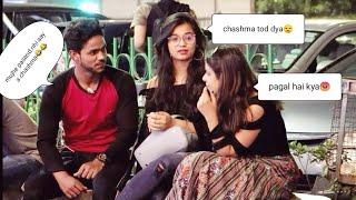 Breaking sunglass prank on Delhi girls.. 😆❤️(gone wrong) prank in India) 😭 || ahsan prank