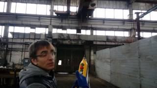 видео Установка крана мостового двухбалочного грузоподъемностью 20 тонн