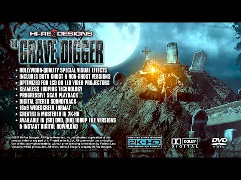 THE GRAVE DIGGER - VISUAL FX DEMO / SAMPLE - NEW FOR 2017
