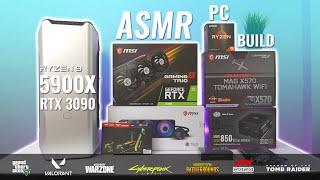($4500) 200K Editing/Gaming ASMR PC Build I Ryzen 9 5900X + RTX 3090 w/ 7 Game Benchmarks