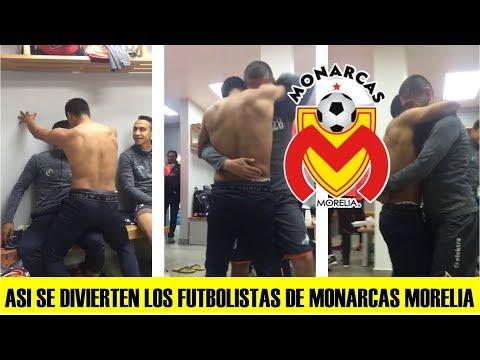 Así Se Divierten Los Futbolistas De Monarcas Morelia De La Liga MX