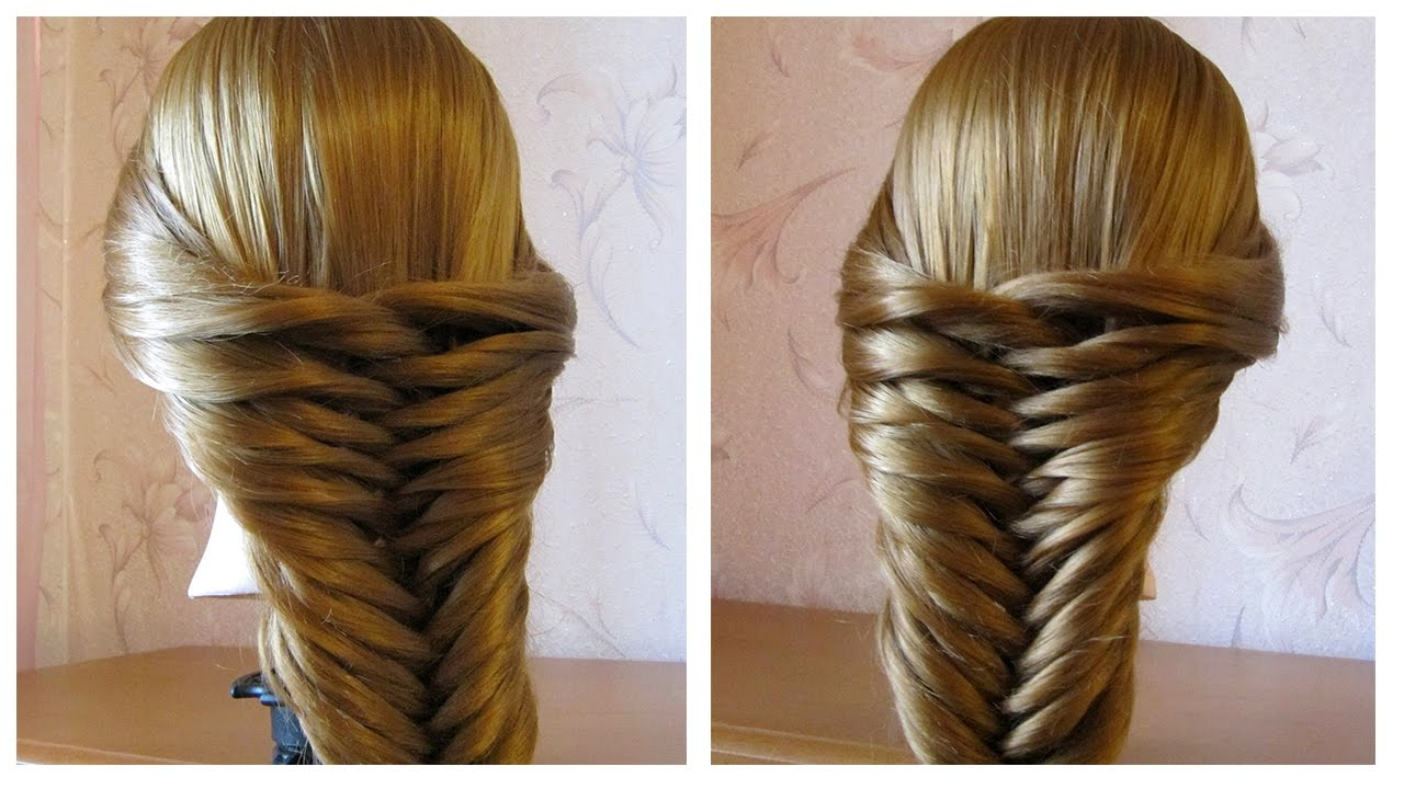 tuto coiffure simple cheveux long mi long tresse facile a faire soi meme youtube. Black Bedroom Furniture Sets. Home Design Ideas