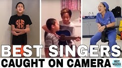BEST VOICES / SINGERS Caught on Camera - Singing Video!