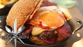 Plan Check Burger Bar - Nicko's #eats
