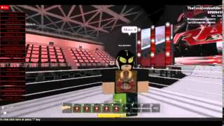 Randy Orton Vs Rey Mystrio WWE (ROBLOX)