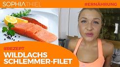 Gesundes Essen & Training // Rezept: Wildlachs Schlemmerfilet mit Reis   WWW.SOPHIA-THIEL.DE