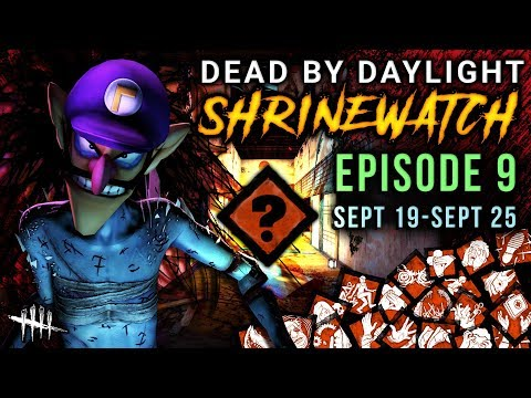 [SHRINEWATCH #9] Sept 19-25 - Dead by Daylight Shrine of Secrets with HybridPanda