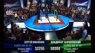 Жириновский vs Генерал, чуть до драки не дошло
