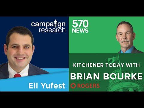 Eli Yufest talks 2019 election with Brian Bourke of 570 News