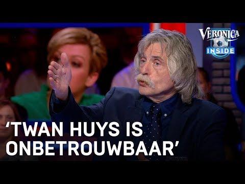 Johan reageert op rel bij Late Night: Twan Huys is onbetrouwbaar | VERONICA INSIDE