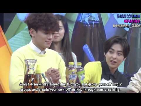 [ENG] 150501 EXO KangShifu Iced Red Tea Special Programme