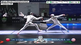 Wuxi 2018 Fencing World Championships mf t08 USA vs CHN