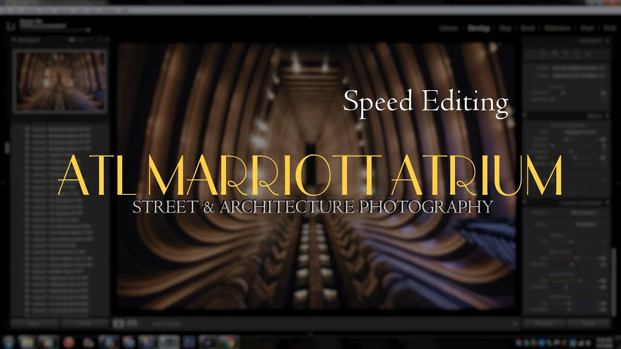 Architecture Photography Editing architecture photography: hdr edit of atl marriott marquis ii