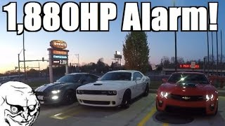 Waking up the Neighbors at 5AM... WORLD'S BIGGEST! Cars & Coffee?!
