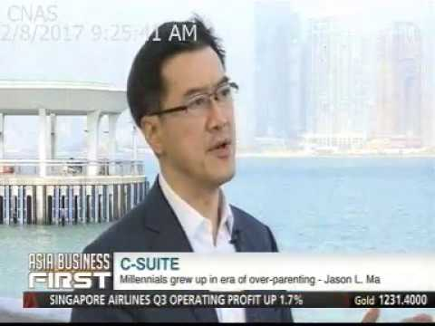 Jason Ma on Shaping Young Leaders: Interview at C-Suite on Channel NewsAsia