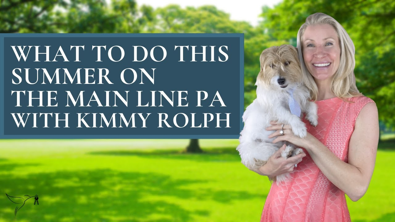 ⚽️⛳️🎾Best Outdoor Activities on The Main Line PA, Summer 2021 with Kimmy Rolph Real Estate