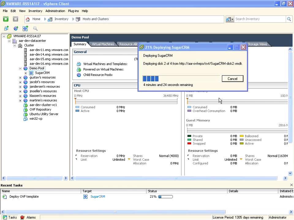 VMware vApp Developer Blog - Page 2 of 2 - vApps, OVF, VMware Studio