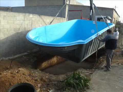 Como instalar piscina de fibra piscinas cano c 61 youtube - Piscinas de montar ...