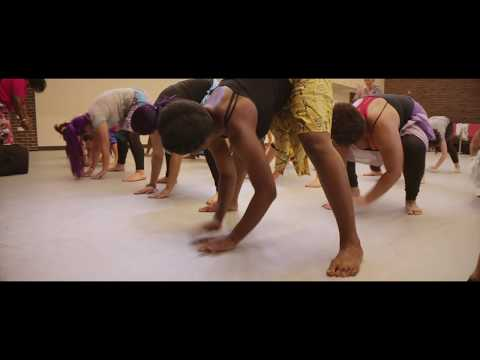 A Visit to West African Dance Class