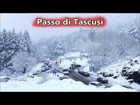 Passo Di Tascusì Innevato A Desulo ~ 3 Febbraio 2019 | Viaggiare In Sardegna