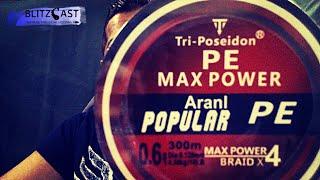 Tri-Poseidon Braid, my experience with it.  Is it any good? Tresse PE Max Power.Tech talk 3.