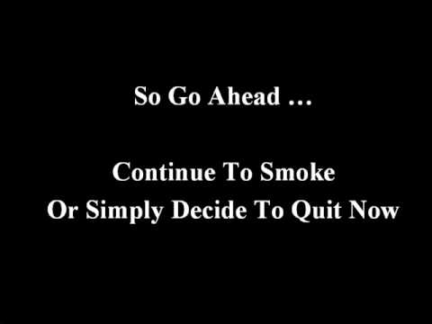 Stop Smoking Now ....MP3 Audio Download that Really Works