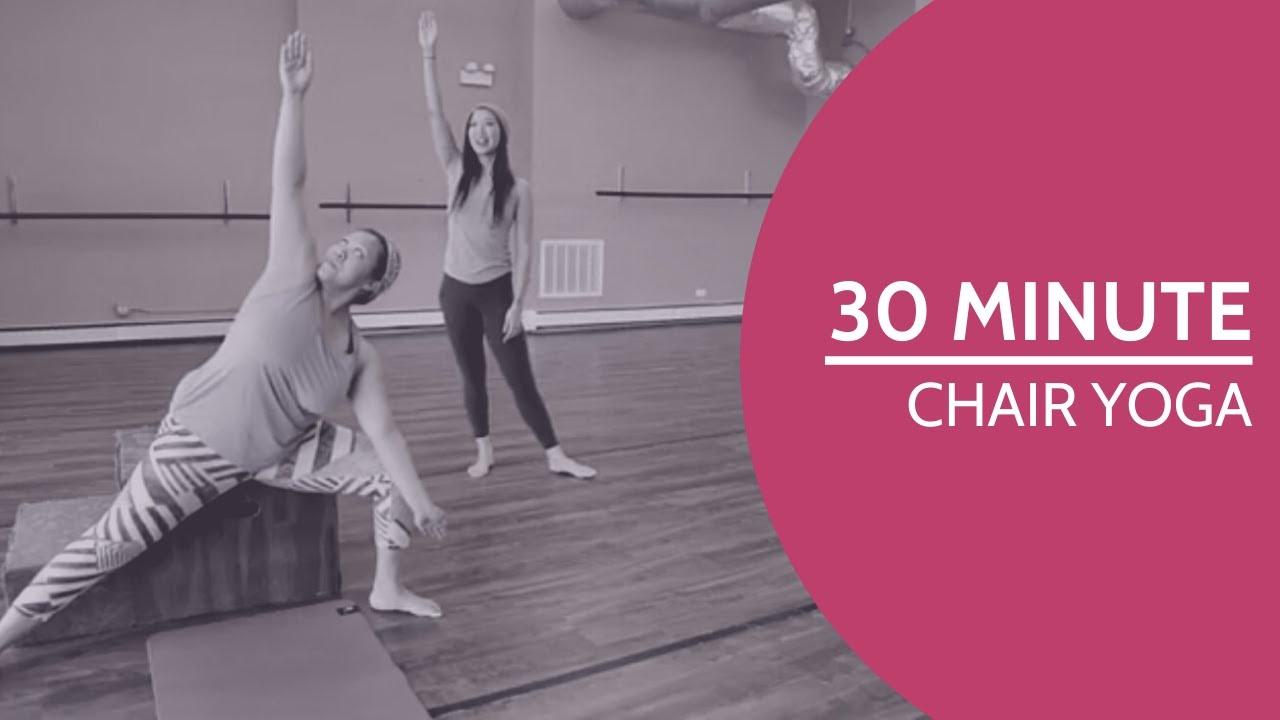 30 Minutes - Beginner's Chair Yoga