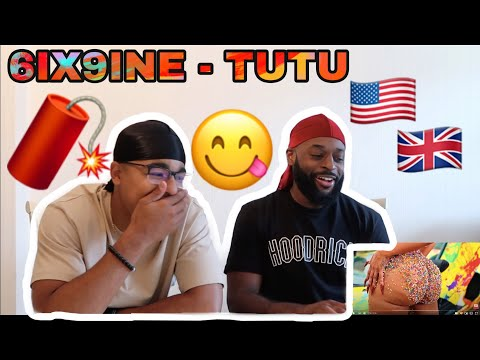 AMERICAN RAP REACTION (UK) | 6IX9INE- TUTU (Official Music Video)