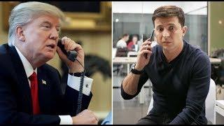 Зеленский и Трамп. Конгресс США требует расшифровку телефонного разговора президентов США и Украины