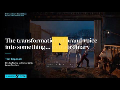 Extraordinary Webinar - The transformation of brand voice into something… extraordinary