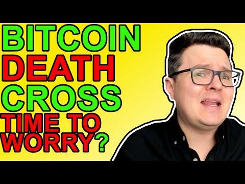 Bitcoin Death Cross 50% Drop Coming? [Crypto News 2021]