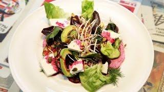 «АиФ. Еда по-питерски»: рецепт салата с печёной свёклой