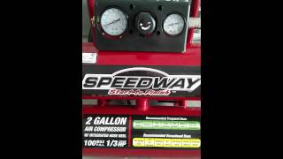 speedway 2 gallon air compressor