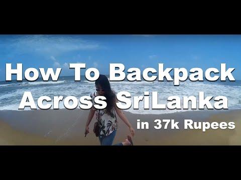 Backpacking Across Sri Lanka